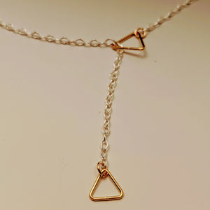 Triangle Slide Necklace