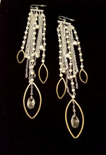Load image into Gallery viewer, Waterfall Chandelier Earrings