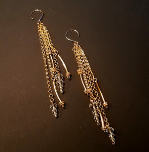 Links of Gold Earrings