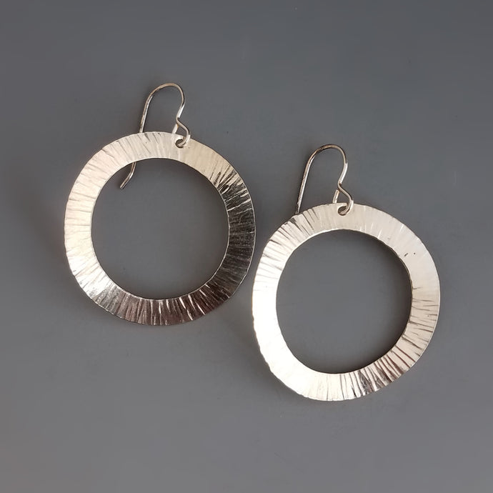 Infinity Circle Earrings