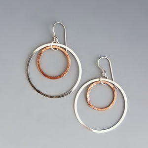 Sterling Copper Halos
