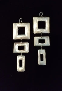 Square Meets Rectangle Earrings