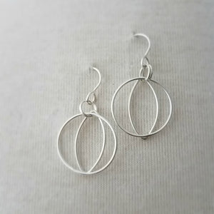 Circle Marquis Earrings