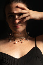 Load image into Gallery viewer, Dancing Pearls Neck Piece