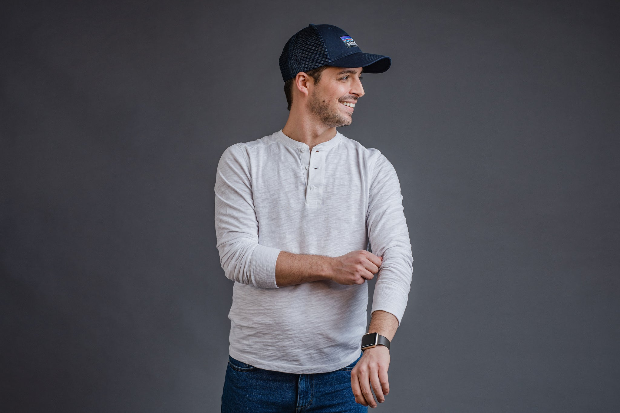 dcc0c8d039f How To Wear a Henley Shirt (5 Outfit Ideas) – Peter Manning NYC