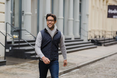 9 Ways to Wear a Lightweight Quilted Vest