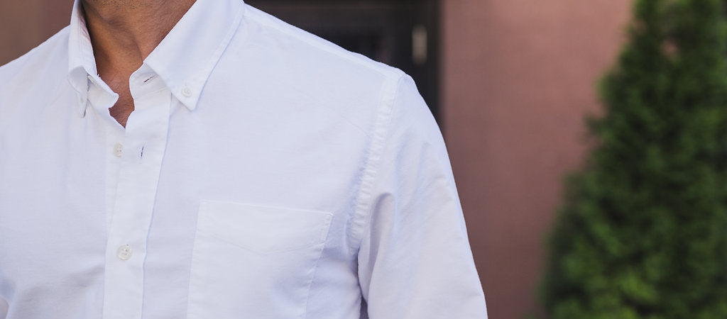 Our shirts are all made with proper sleeve and body length, as well as narrower arms and scaled down collars and cuffs. Designed to fit the 'not-so-tall' guy right out of the box!