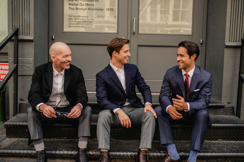 Made from high quality Italian fabrics, and available in shorter sizes, our jackets and dress pants are sold separately, so you can mix and match to dress things up or down.