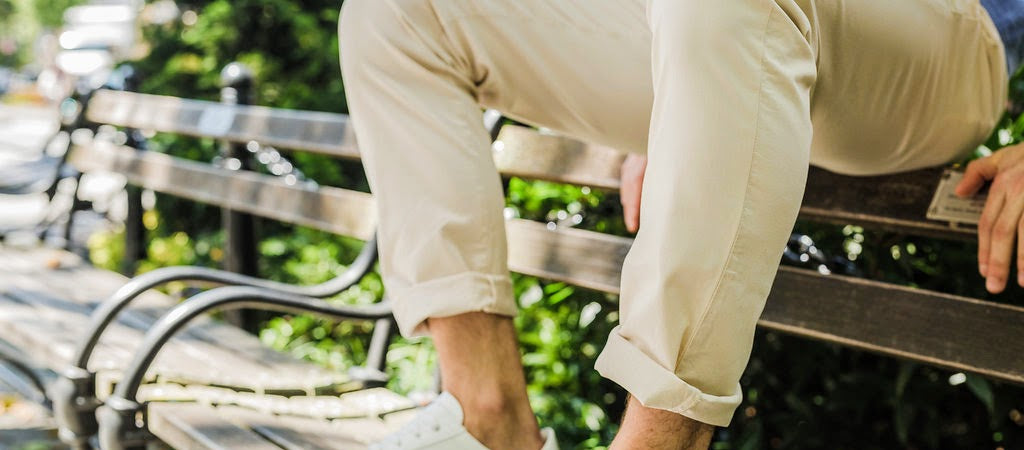 Our warm weather version of Chinos, comes in two fits and inseams starting at 26