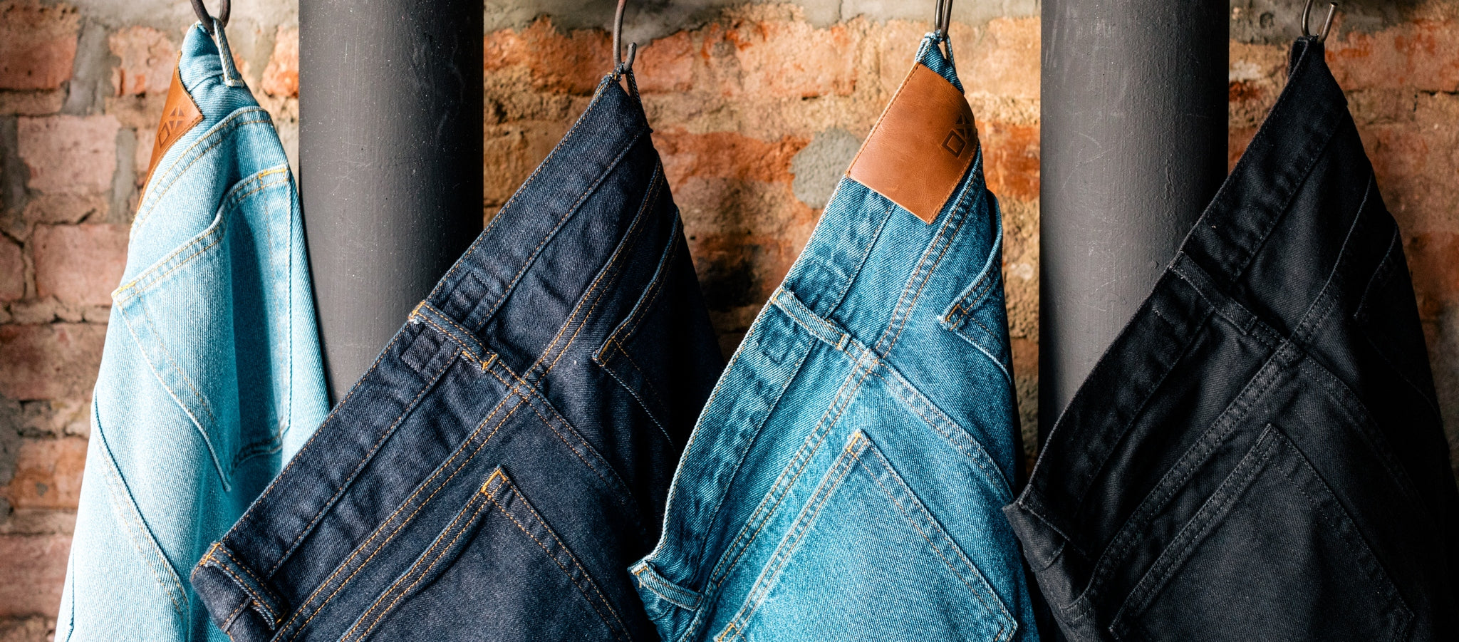 We offer quality denim jeans in 3 fits and 5 washes, and with inseams starting at 26 inches!