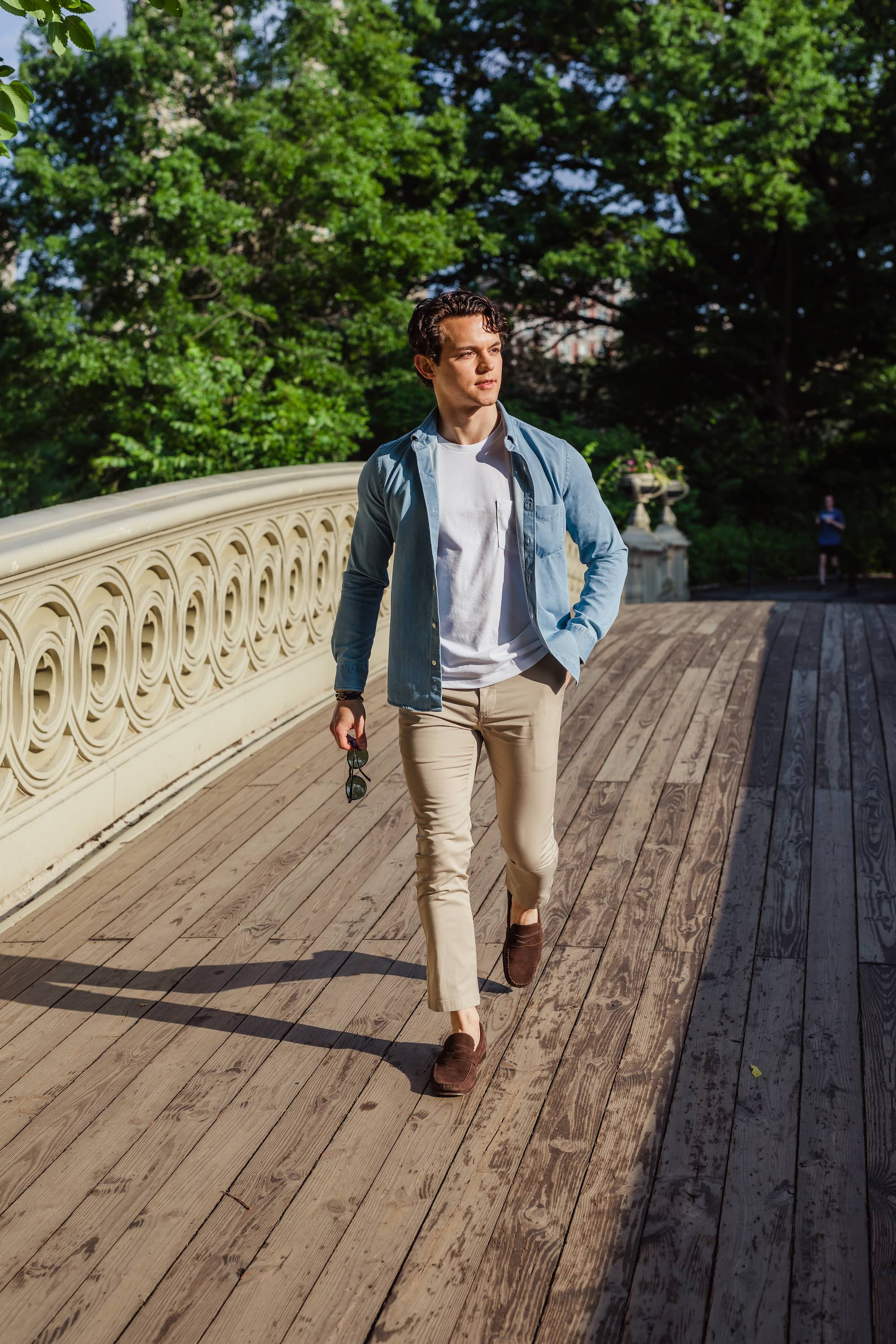 How To Wear A T Shirt 13 Simple T Shirt Outfit Ideas For Men Peter Manning Nyc