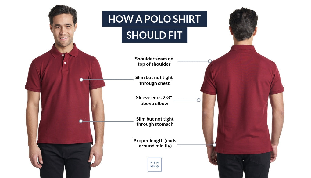 How a polo shirt should fit