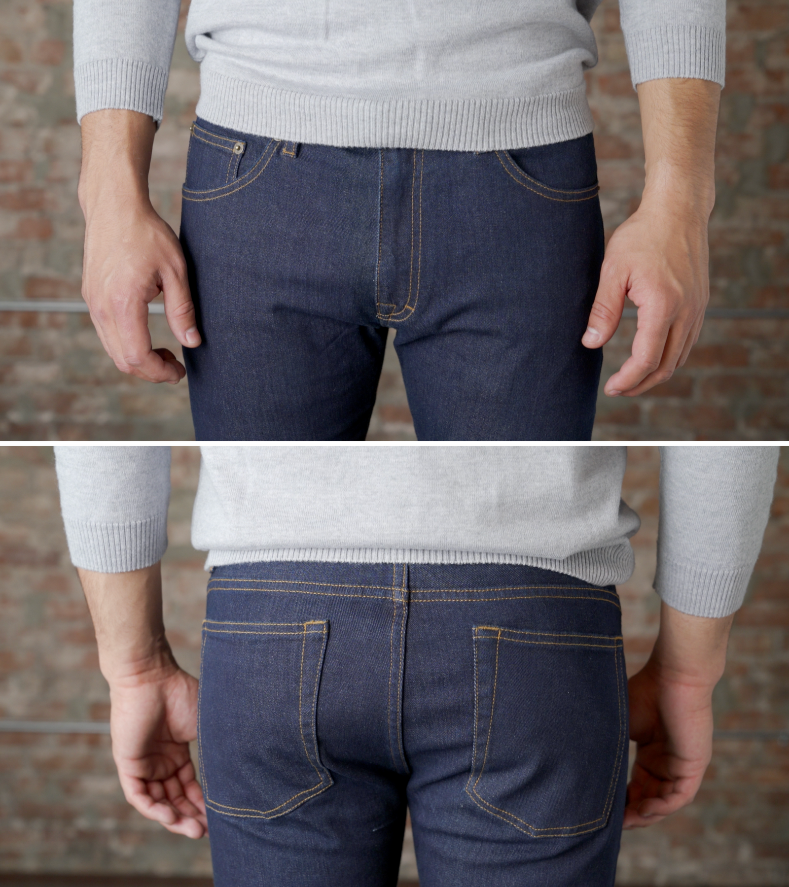 ca3370be658 Jeans for Shorter Men: The Ultimate Guide – Peter Manning NYC