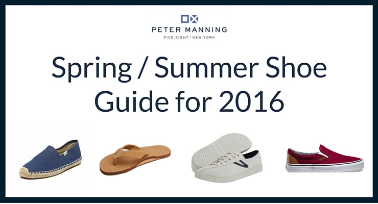 7 Perfect Pairs of Shoes for Spring and Summer – Peter