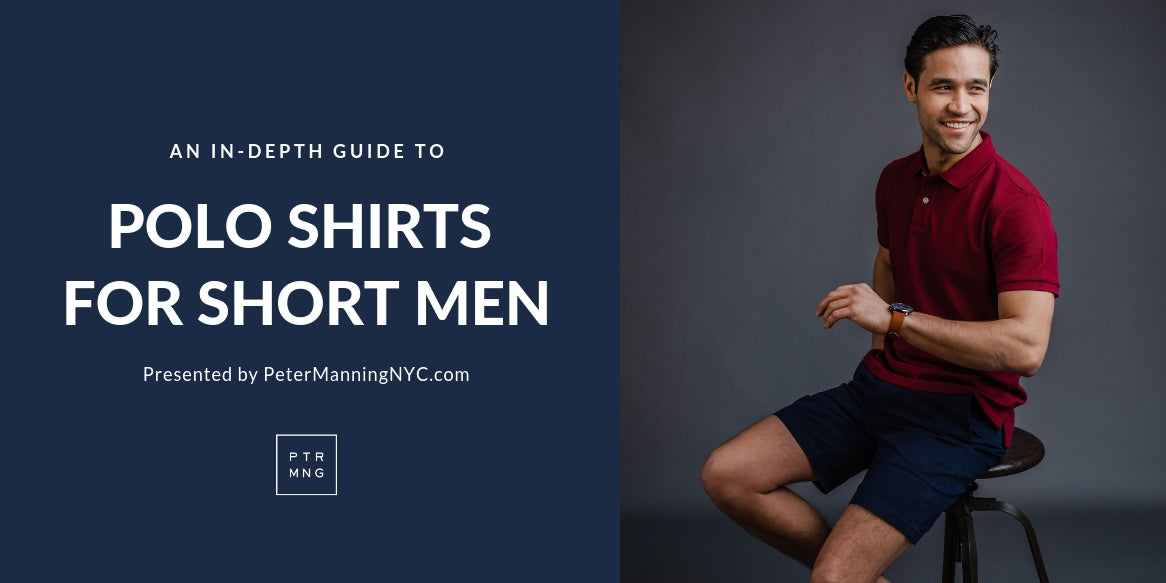 Polo shirts for short men