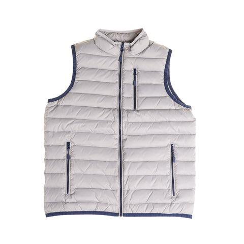Lightweight Down Vest - Grey