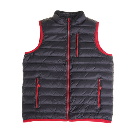 Lightweight Down Vest - Black