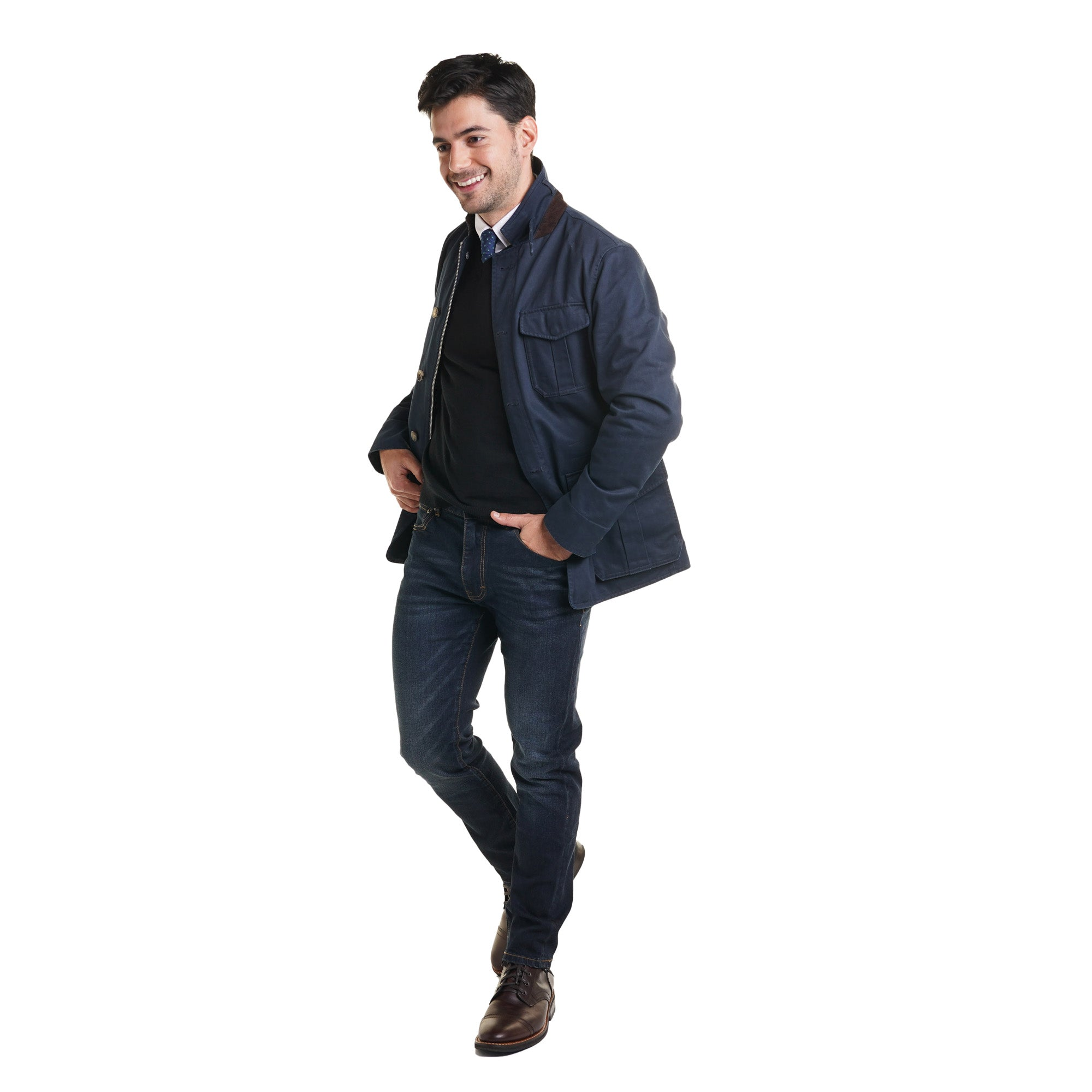 Tribeca Field Jacket - Navy