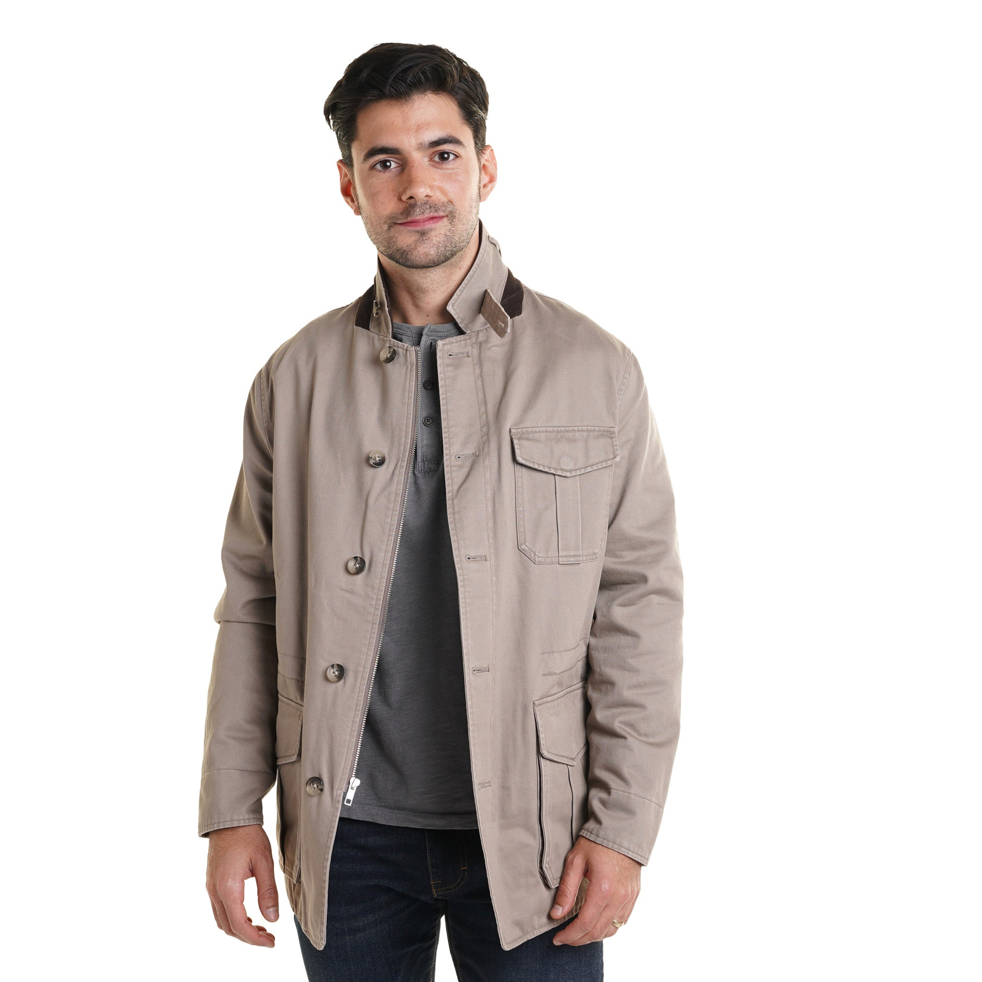 Tribeca Field Jacket - Sand