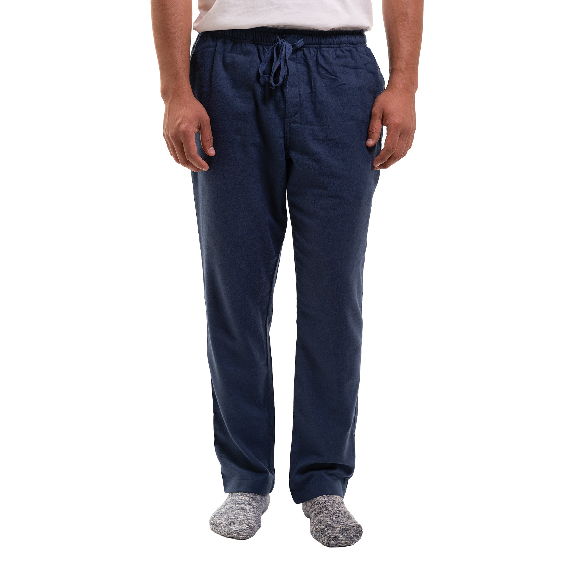 Pajama Pants - Navy Flannel