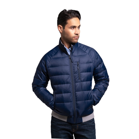 Lightweight Down Jacket - Navy