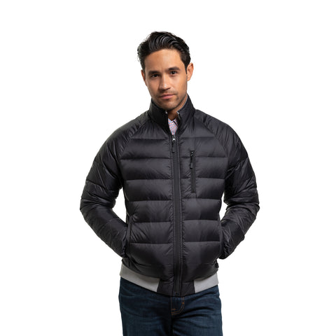 Lightweight Down Jacket - Black