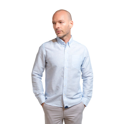 Weekend Linen Shirts - Blue