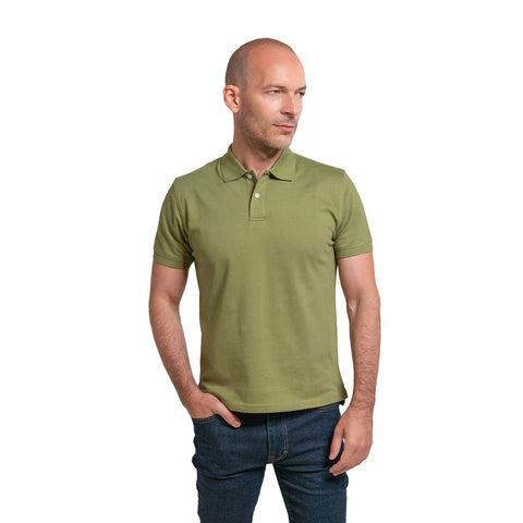 James Polo Shirt - Moss
