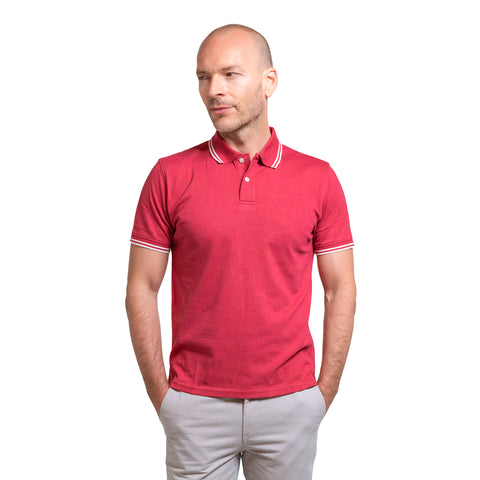 James Polo Shirt - Red Tipped