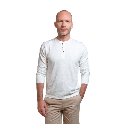 Henley Shirt - White