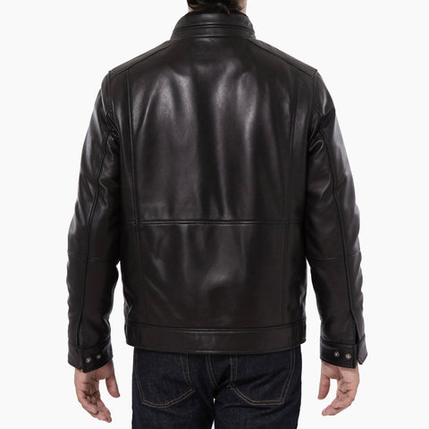 Lambskin Leather Jacket - Black