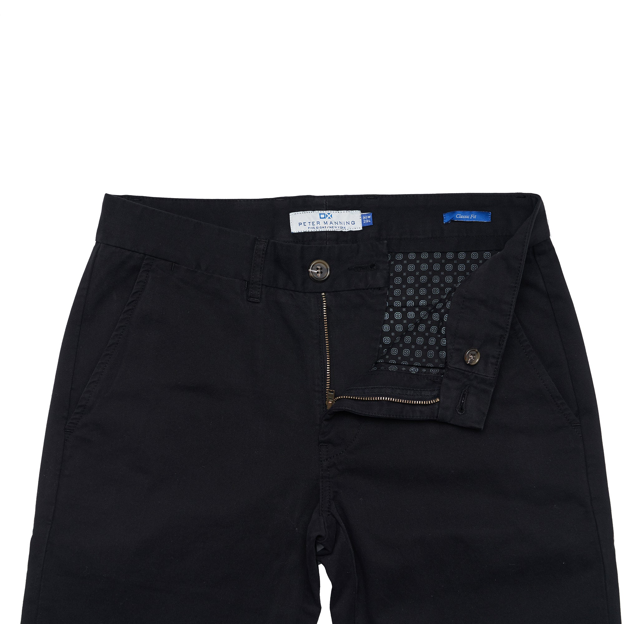 Standard (Classic) Fit Chinos - Black
