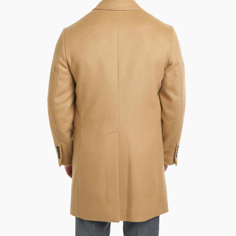 Fulton Wool Cashmere Topcoat - Camel