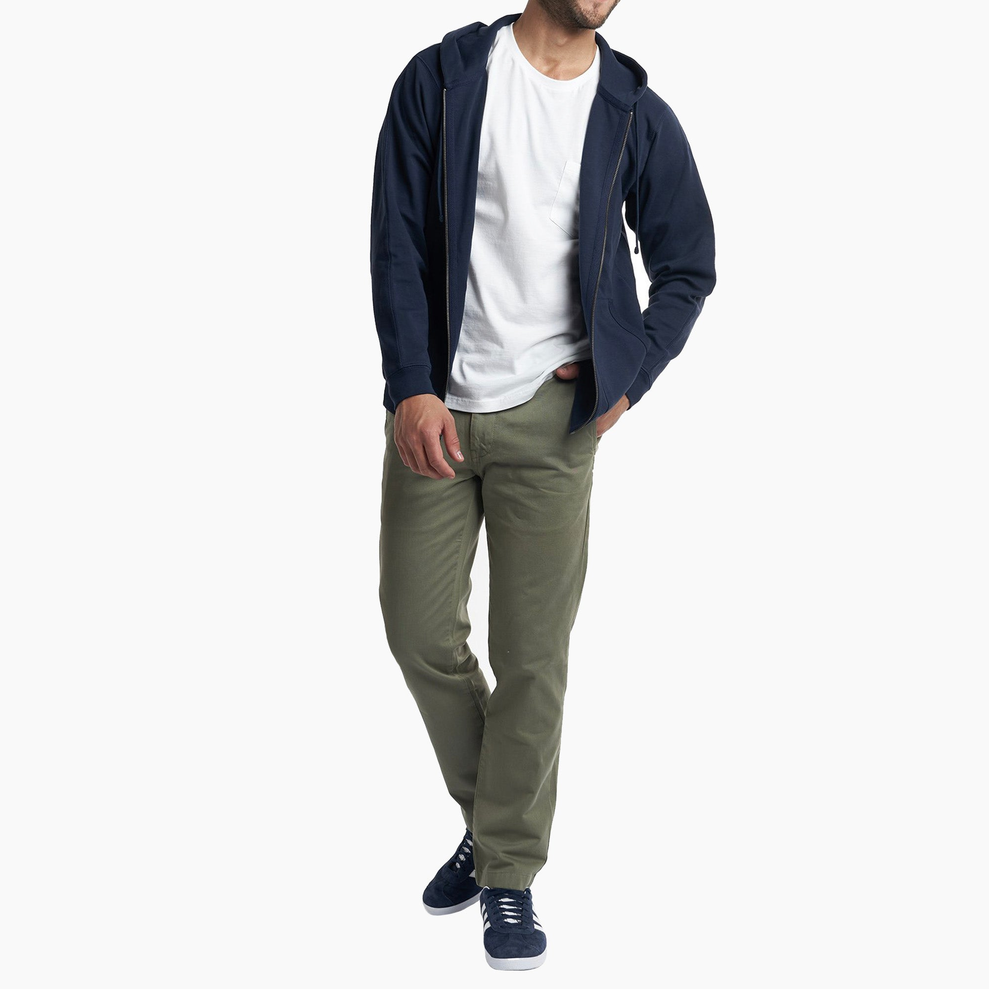 Standard (Classic) Fit Chinos - Olive