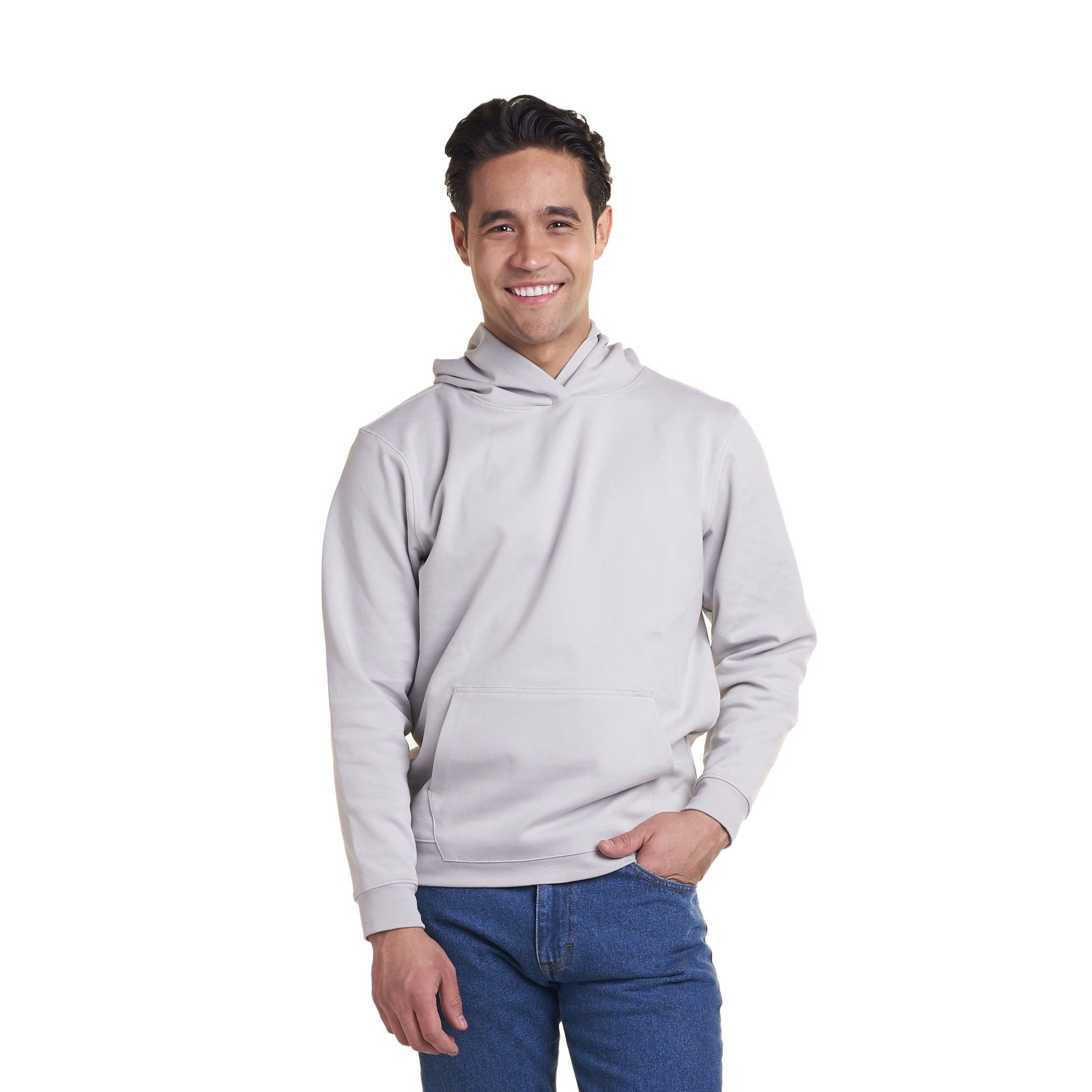 Pullover Hoodie - Washed Grey