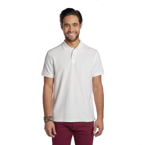 James Polo Shirt - White
