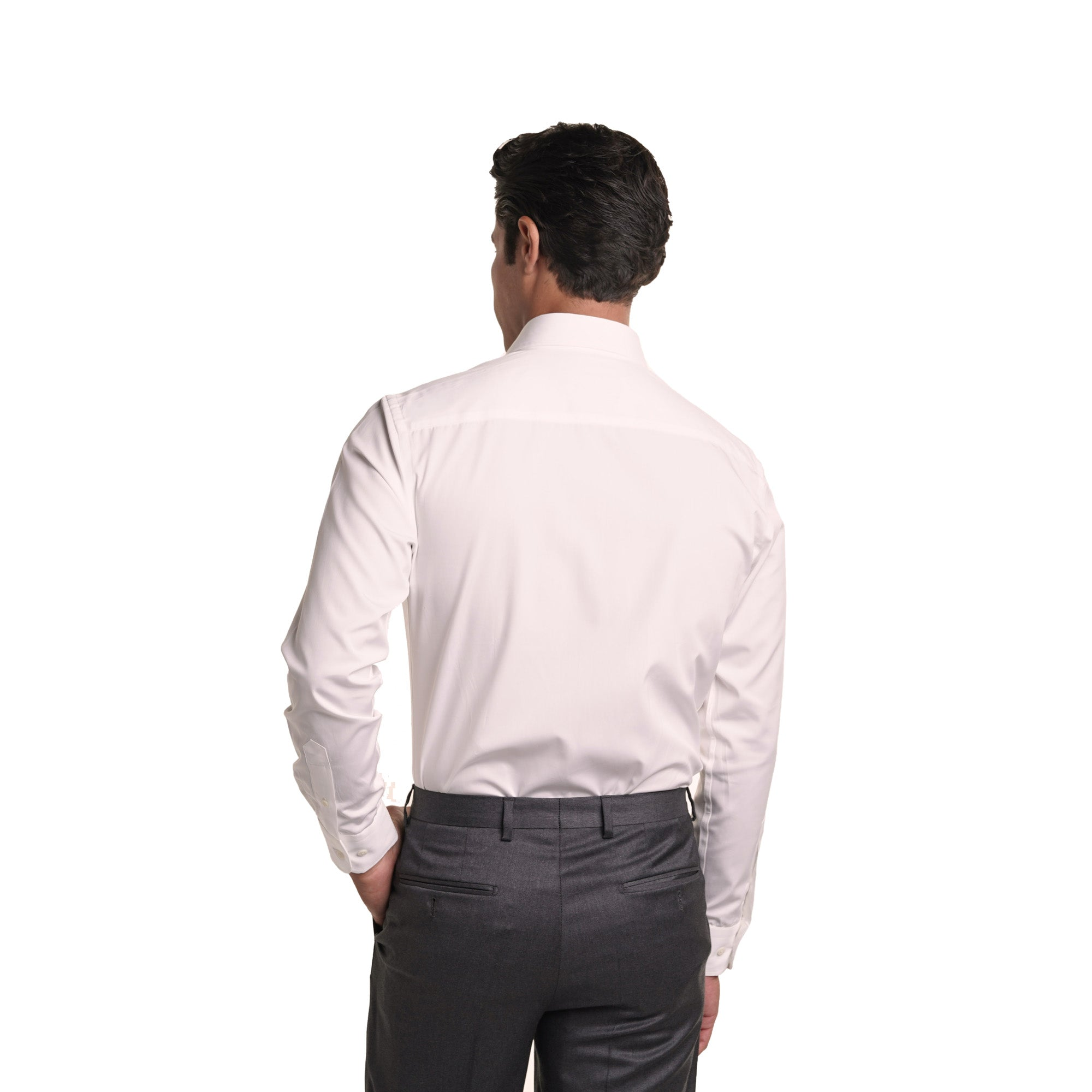 Premium Dress Shirts Slim Fit - White