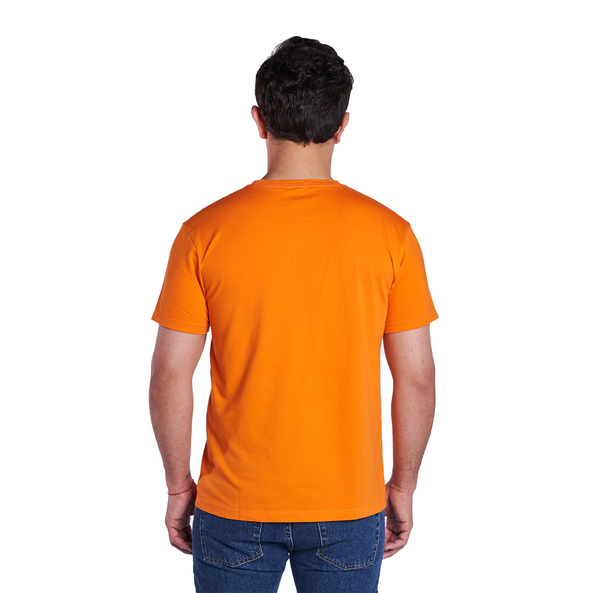 Vintage Crew T-Shirt - Soft Orange