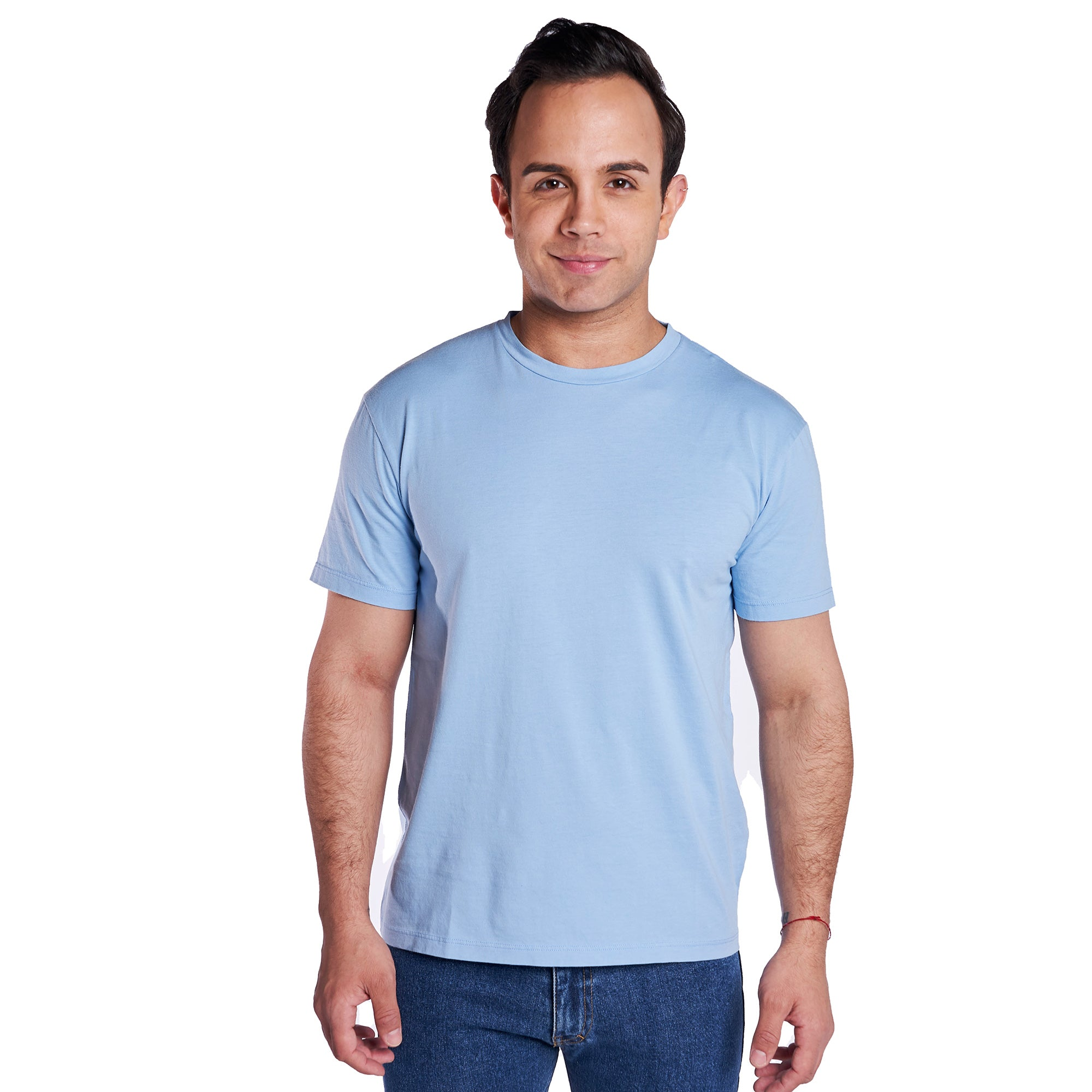 Vintage Crew T-Shirt - Pale Blue