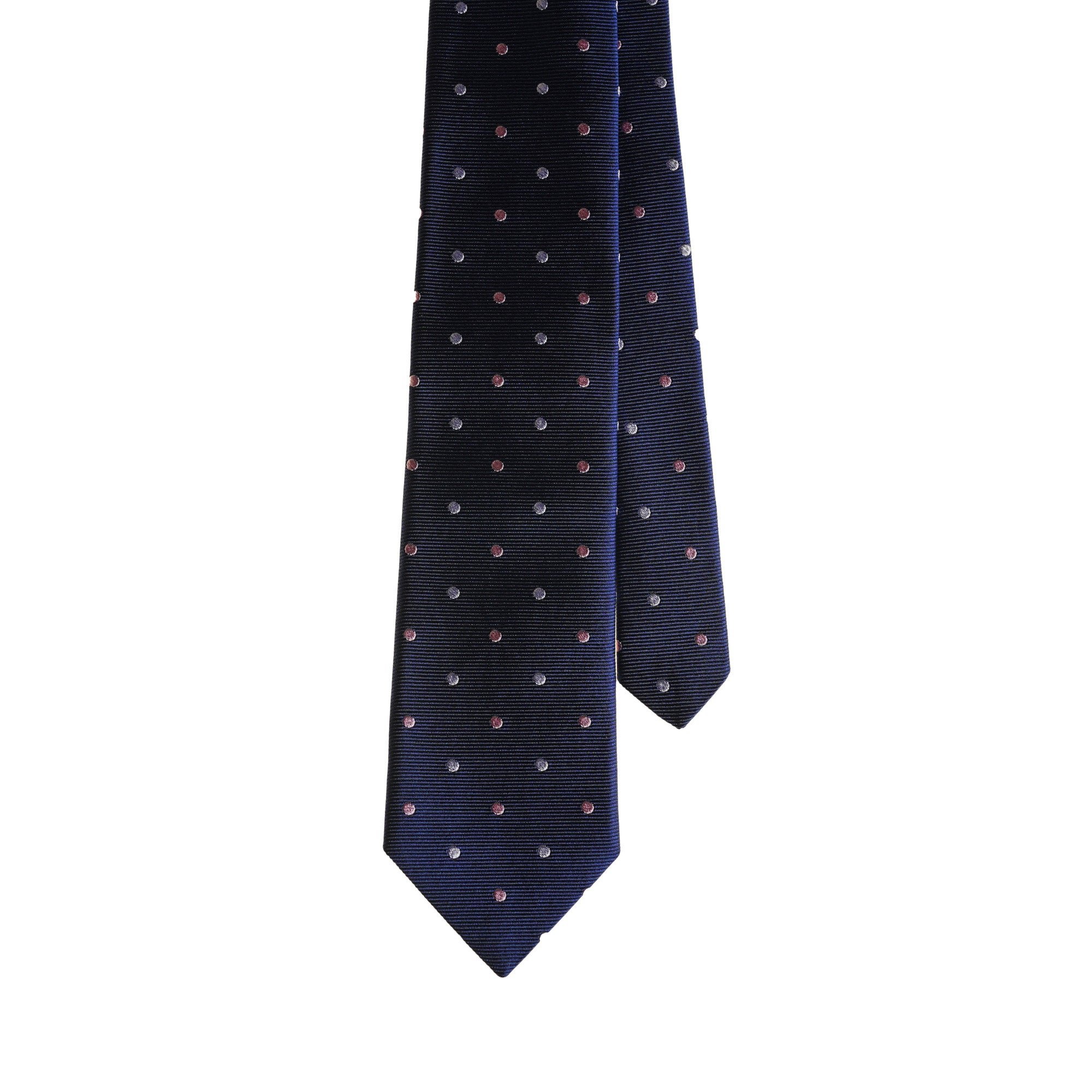 Ties - Navy Pastel Dots
