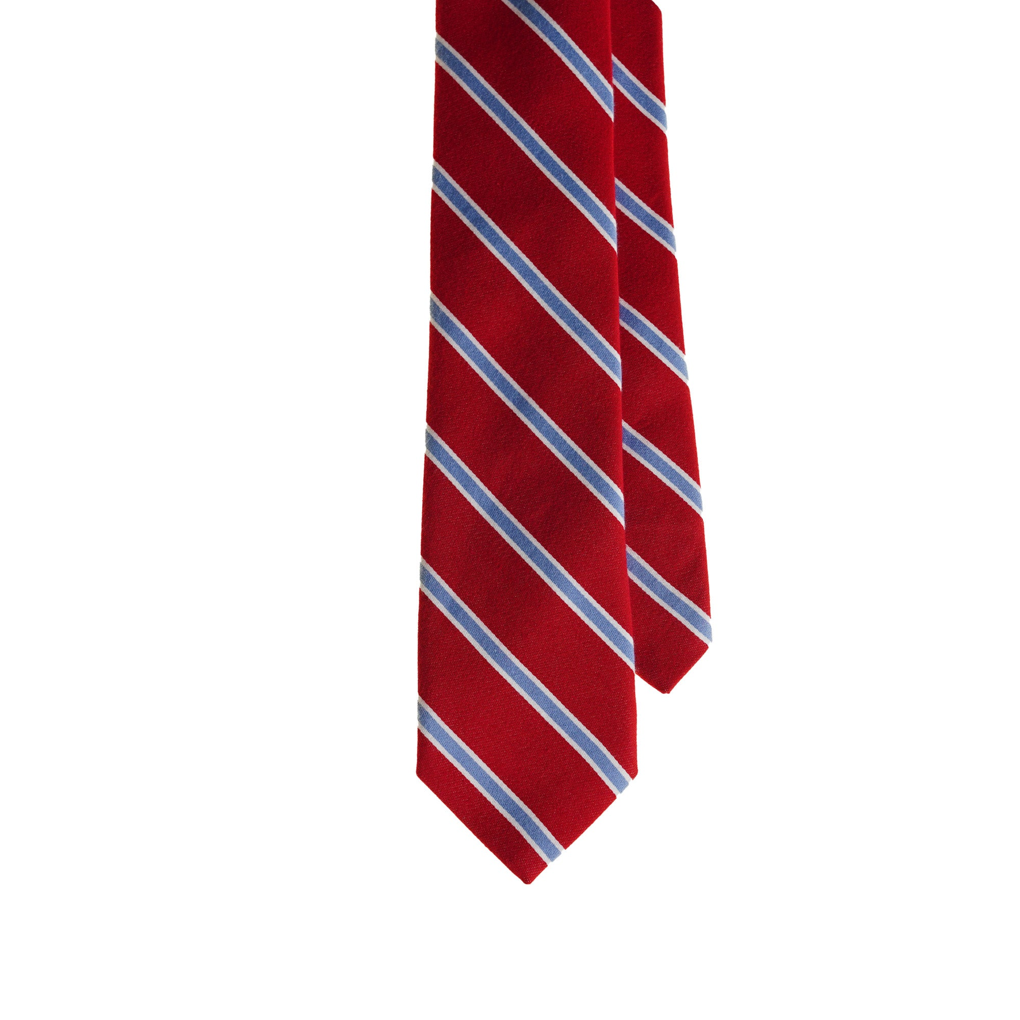 Ties - Red Blue Stripe