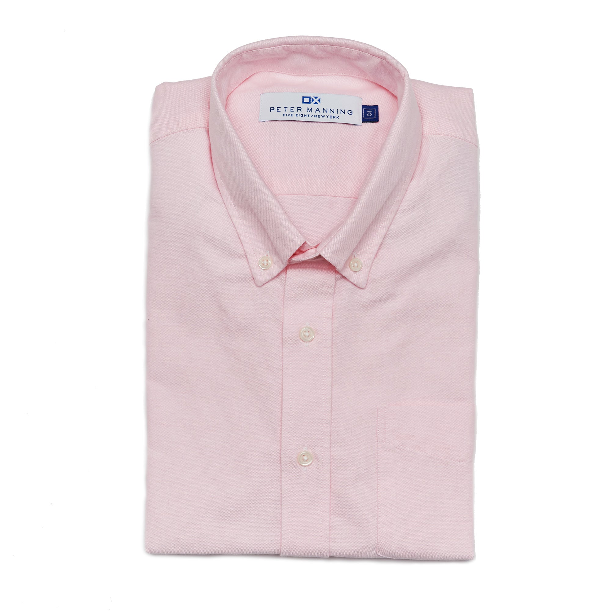 Weekend Oxford Standard Fit - Pink