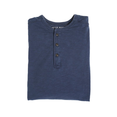 Henley Shirt - Navy