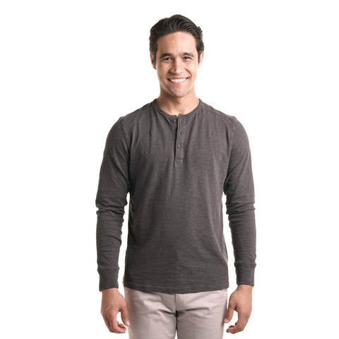 Henley Shirt - Black