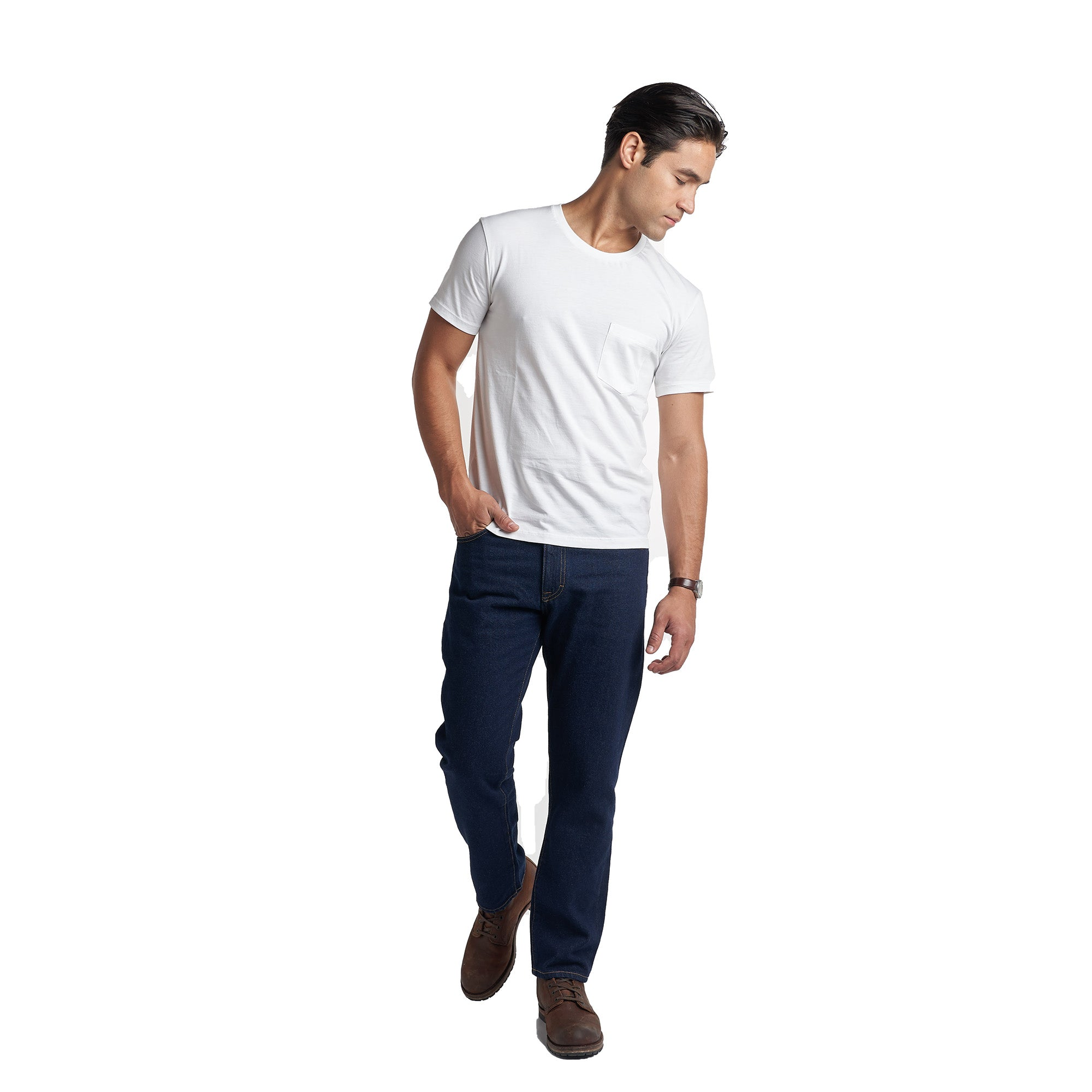 PMNYC Jeans Classic Fit - Dark Indigo Wash