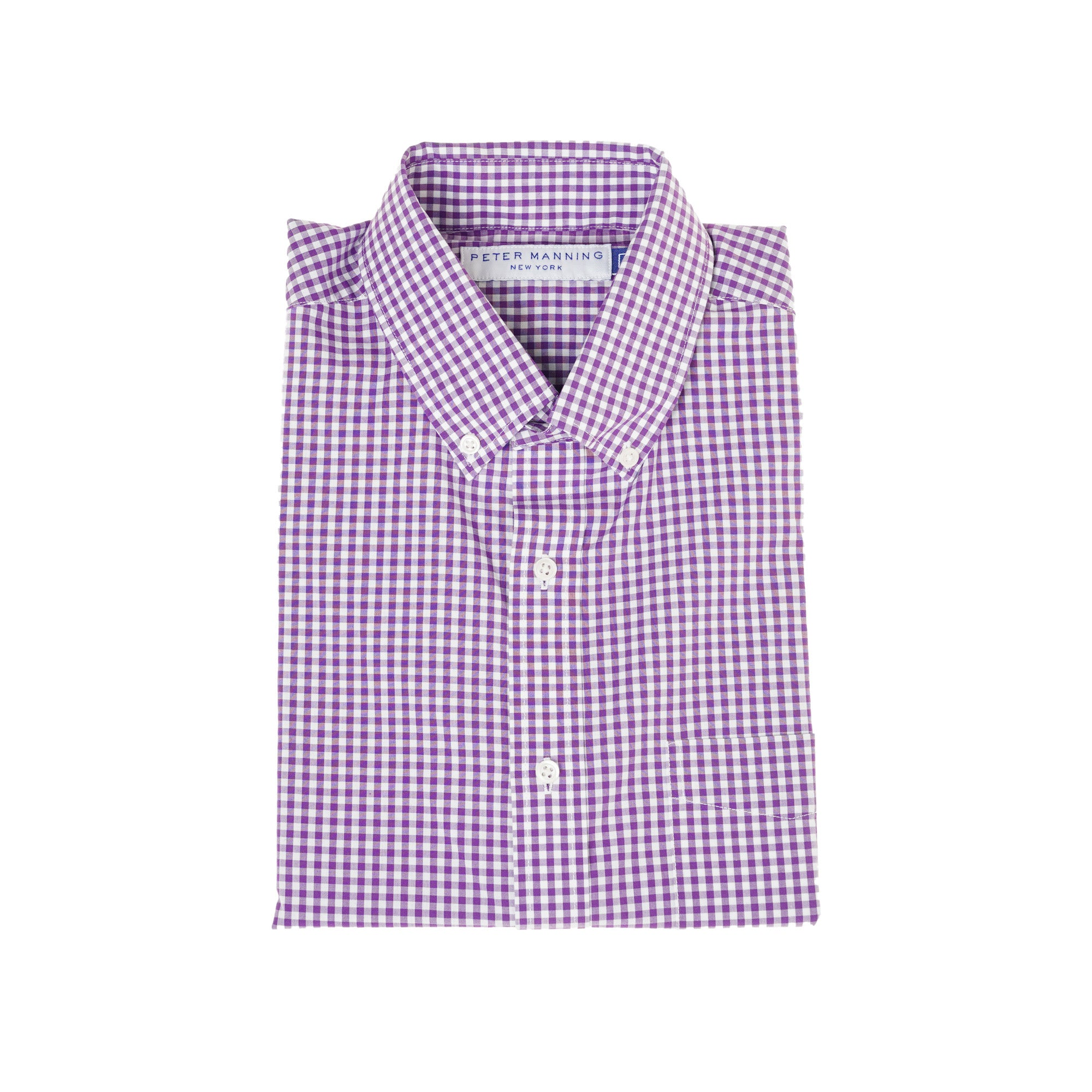 Everyday Shirts Standard Fit - Purple Gingham