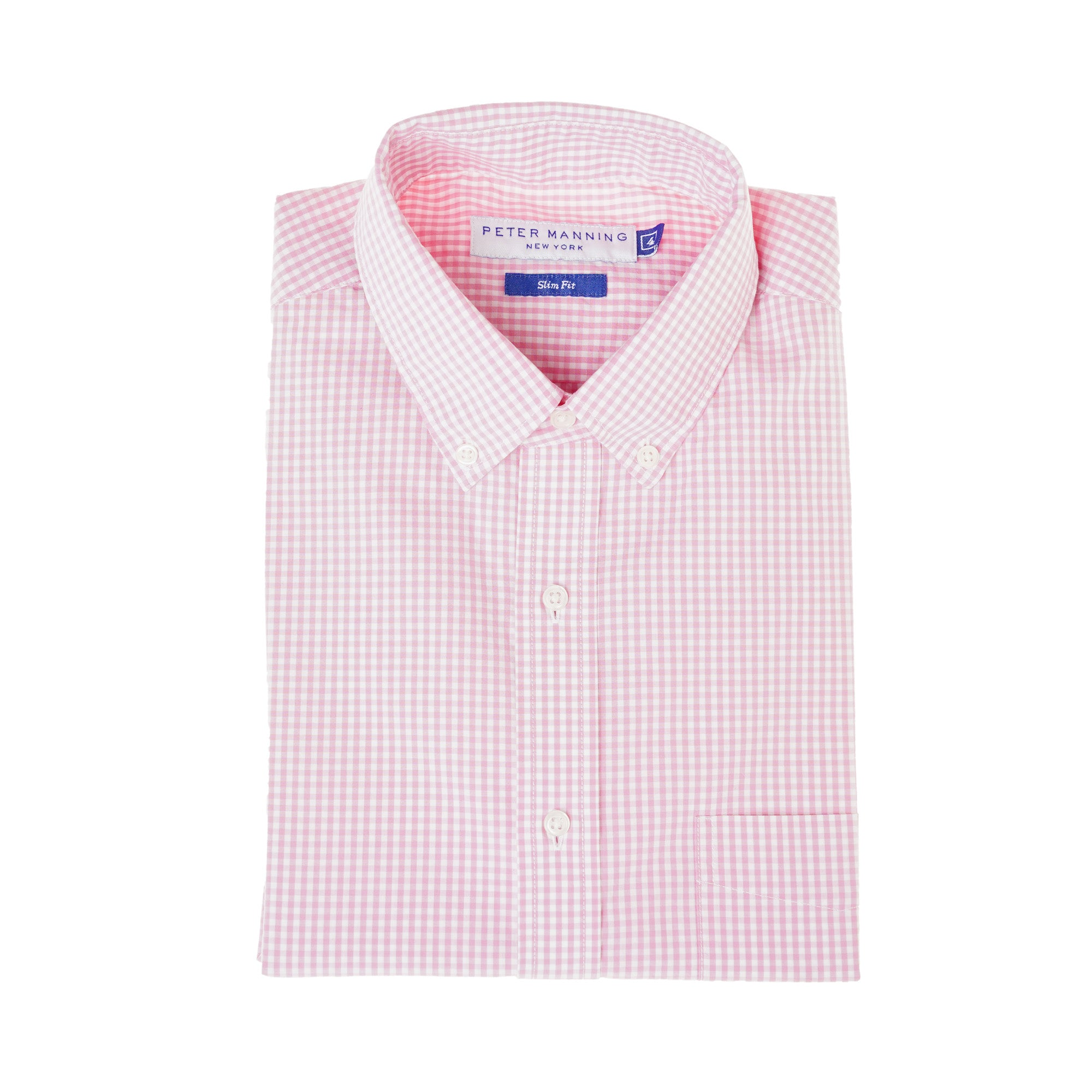 Everyday Shirts Slim Fit - Pink Gingham