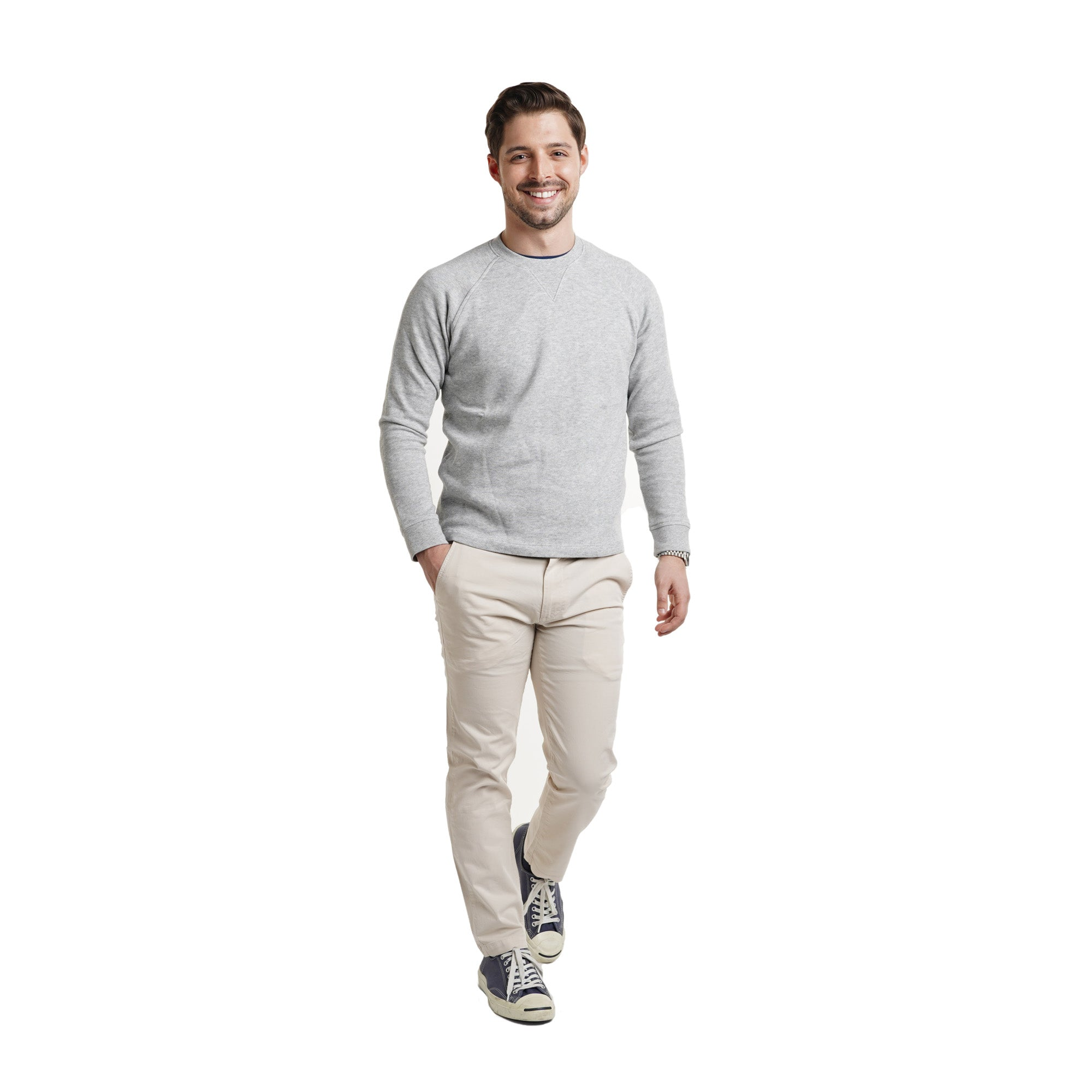 Cotton Pullovers - Heather Grey