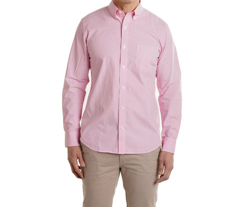 Everyday Shirt - Pink Gingham