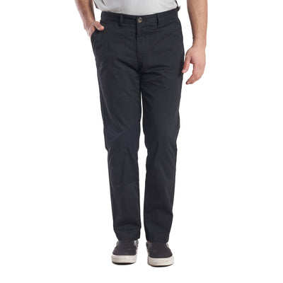 Lightweight Stretch Chinos Standard Fit - Black